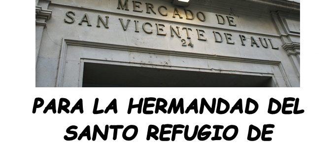 RECOGIDA DE ALIMENTOS EN EL MERCADO DE SAN VICENTE DE PAUL