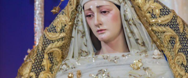 SOLEMNE TRIDUO EN HONOR A MARÍA SANTÍSIMA DEL DULCE NOMBRE 2020.